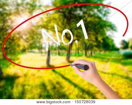 Woman Hand Writing No