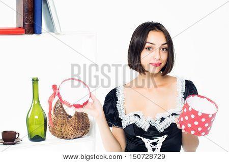 Young Girl Maid