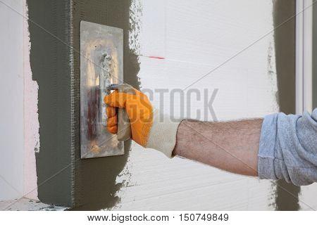 House Renovation, Polystyrene Wall Insulation