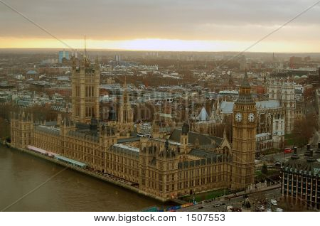 Big Ben London During Sunset