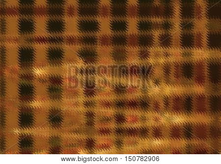 abstract blurred background with irregular waves in orange and yellow tones