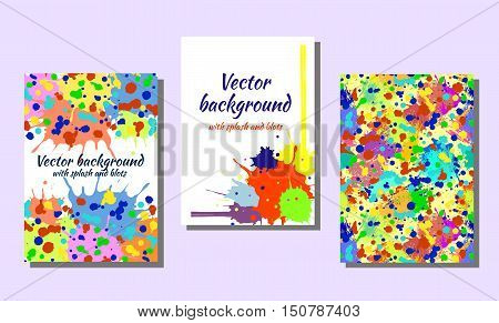 Set Of Vector Cards