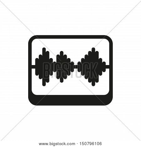 Fader icon on white background Created For Mobile Web Decor Print Products Applications. Icon isolated. Vector illustration