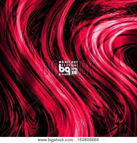 Vector design colored abstract background futuristic illustration glitch infinity in red