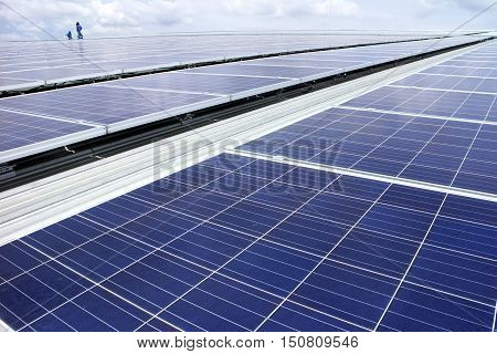 Large Scale Rooftop Solar PV Power Plant