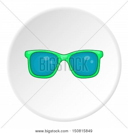 Glasses icon. Cartoon illustration of glasses vector icon for web