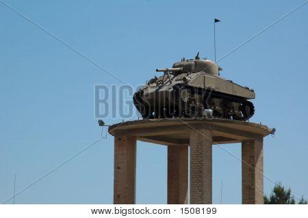 Tank In Latrun