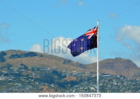 New Zealand National Flag.