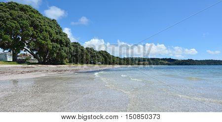Landscape Of Snells Beach Near Warkworth New Zealand