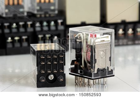 Electrical Auxiliary Contacts Relay for Control Wiring