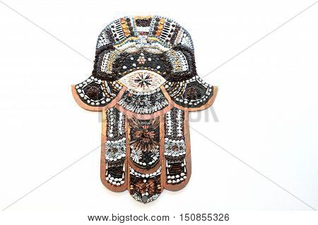Hamsa Hand Ward Off The Evil Eye Symbol