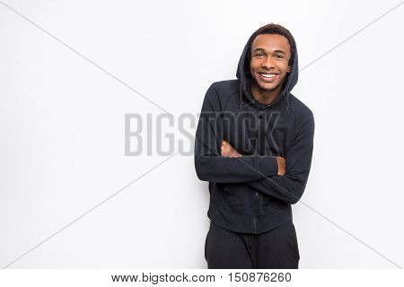 Smiling African Guy