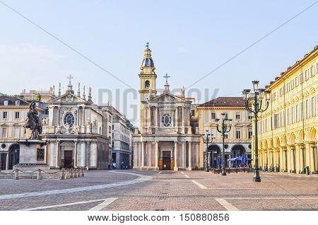 Hdr Piazza San Carlo Turin