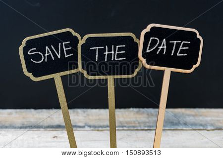 Business Message Save The Date