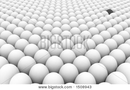 One Grey Egg