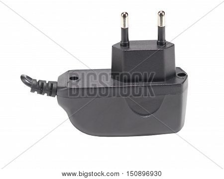 The charging device for phone on white background