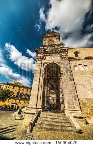 San Nicola cathedral in Sassari in Italy