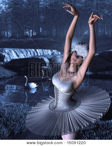 Swan Lake - Odette and Swans