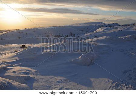 Hibiny massiv-Skigebiet