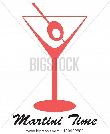 This is an illustration of a Martini glass.