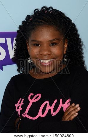 LOS ANGELES - OCT 5:  Trinitee Stokes at the Metropolitan Fashion Week Closing Gala and Awards Show at the ArcLight Hollywood Theater on October 5, 2016 in Los Angeles, CA