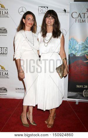 LOS ANGELES - OCT 1:  Natalie Taormina, Jennifer Mellon at the Catalina Film Festival - Saturday at the Casino on October 1, 2016 in Avalon, Catalina Island, CA