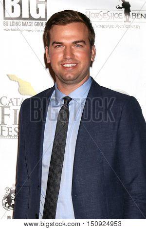 LOS ANGELES - OCT 1:  Kohl Harrington at the Catalina Film Festival - Saturday at the Casino on October 1, 2016 in Avalon, Catalina Island, CA