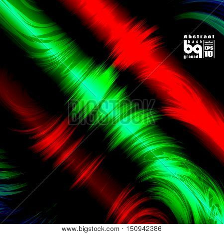 Vector design colored abstract background futuristic illustration glitch infinity rainbow