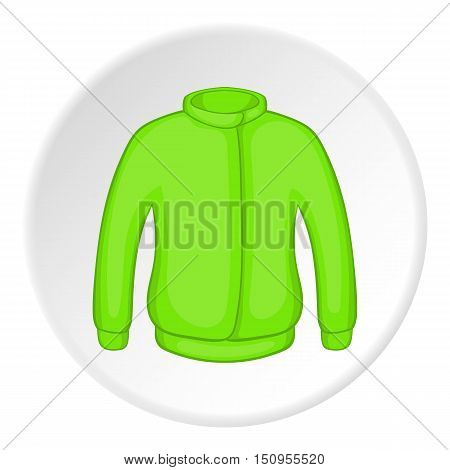 Jacket icon. Cartoon illustration of jacket vector icon for web