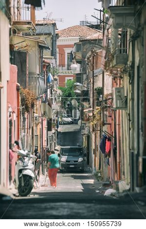 Catania arhitecture - Catania Street view