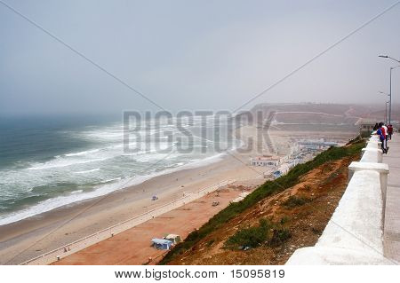 Big Sendy Beach In Sidi Ifni, Morocco