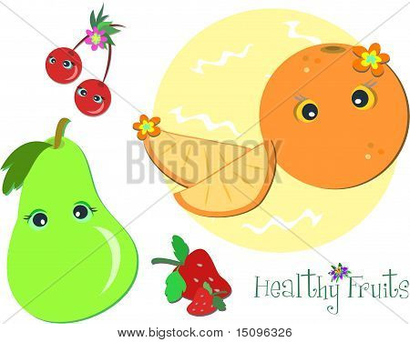 Healthy Fun Fruits