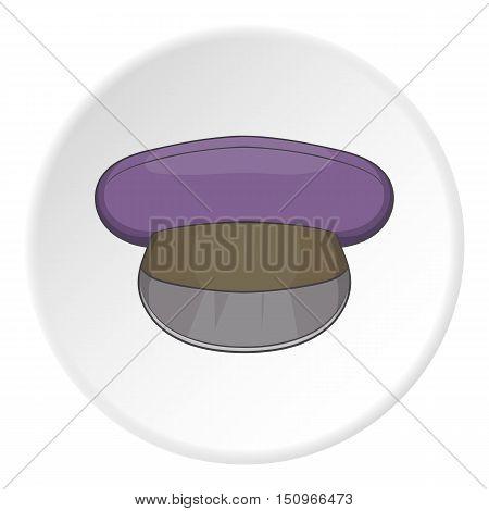 Cap icon. Cartoon illustration of cap vector icon for web