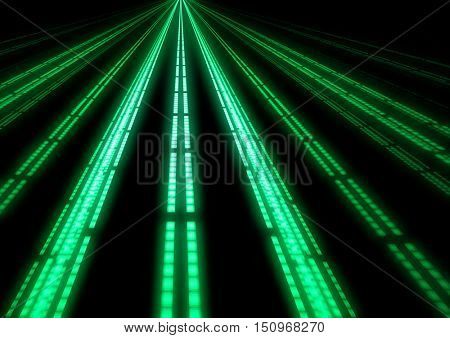 abstract illuminated runway lines background texture