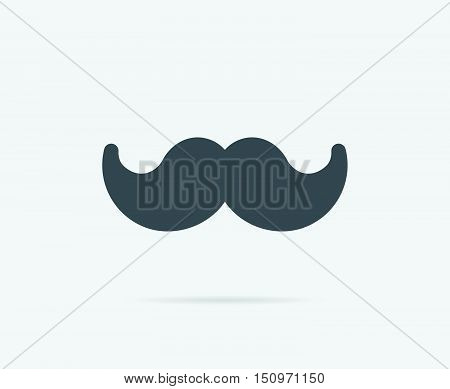 Moustach Mustache Of Chef Cook Vector Element Or Icon, Illustration Ready For Print Or Plotter Cut O