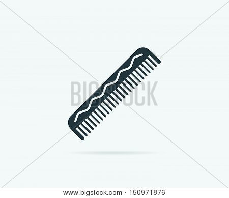 Comb Hairbrush Vector Element Or Icon, Illustration Ready For Print Or Plotter Cut Or Using As Logot