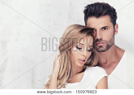 Portrait Of Sexy Couple.