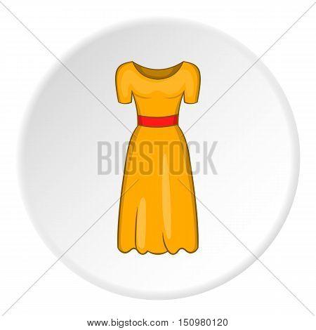 Women fancy dress icon. Cartoon illustration of women fancy dress vector icon for web