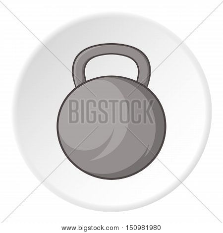 Sport weight icon. Cartoon illustration of sport weight vector icon for web