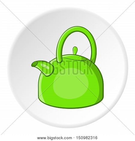Kettle icon. Cartoon illustration of kettle vector icon for web