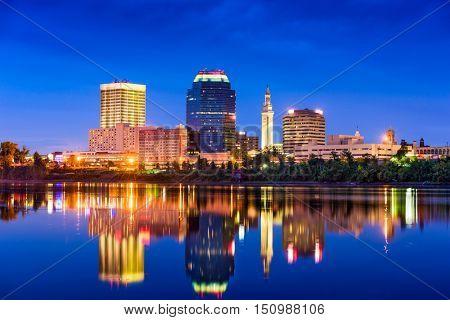 Springfield, Massachusetts, USA Skyline.
