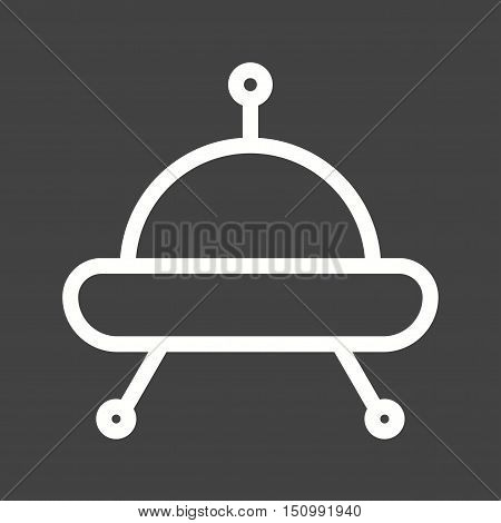 Space, shuttle, rocket icon vector image. Can also be used for vehicles. Suitable for use on web apps, mobile apps and print media.