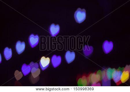 Background Bokeh Heart.