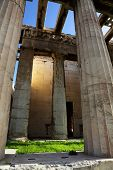 Temple Of Hephaestus, Also Known As The Hephaisteion Or Earlier As The Theseion poster