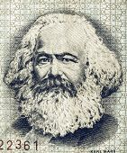 Постер, плакат: Vintage Karl Marx
