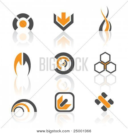 vector logos- colorful version