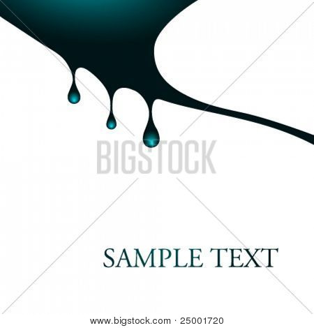 Vector fluid illustration
