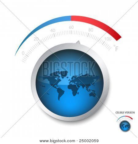 Rising of Earth temperature