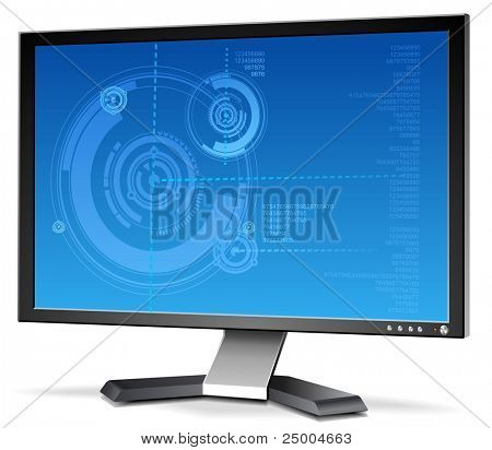 3D LCD Monitor