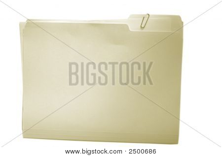 Folder On White Duo